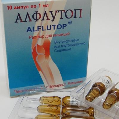 Что представляет собой препарат Алфлутоп?