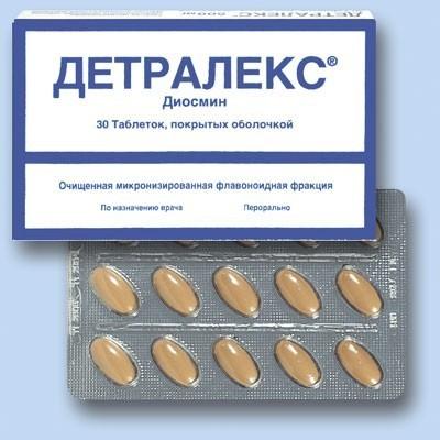 Что представляет собой препарат Детралекс?