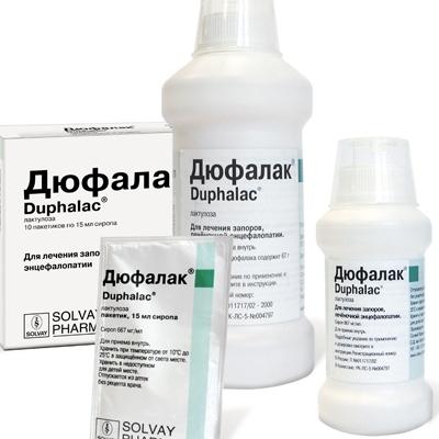 Что представляет собой препарат Дюфалак?