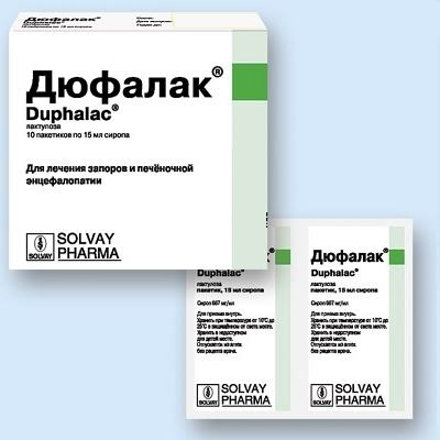 Дюфалак - препарат нового поколения от запора