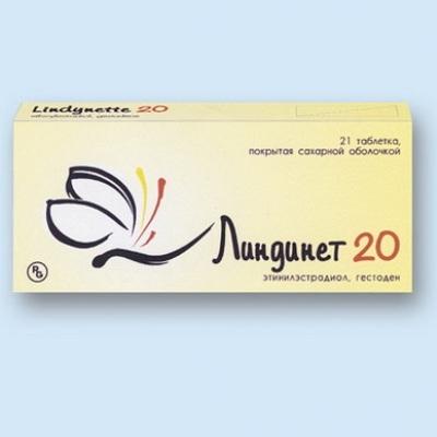 Что представляет собой препарат Линдинет 20?