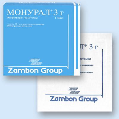 Что представляет собой препарат Монурал?