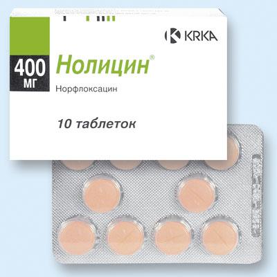 Что представляет собой препарат Нолицин?