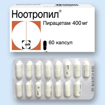 Что представляет собой препарат Ноотропил?