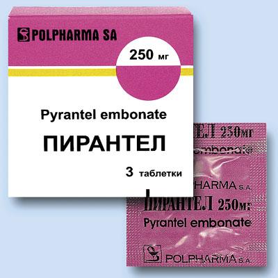 Что представляет собой лекарство Пирантел?