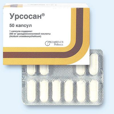 Что представляет собой препарат Урсосан?